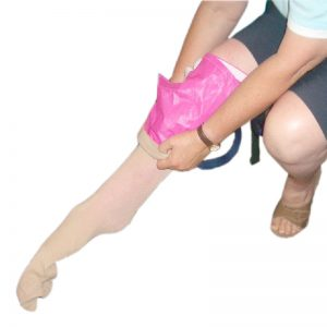 Stocking Slider Enclosed Toe Wrap Around