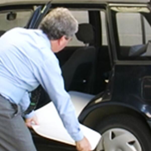 Car Emergency Slide Board Kit