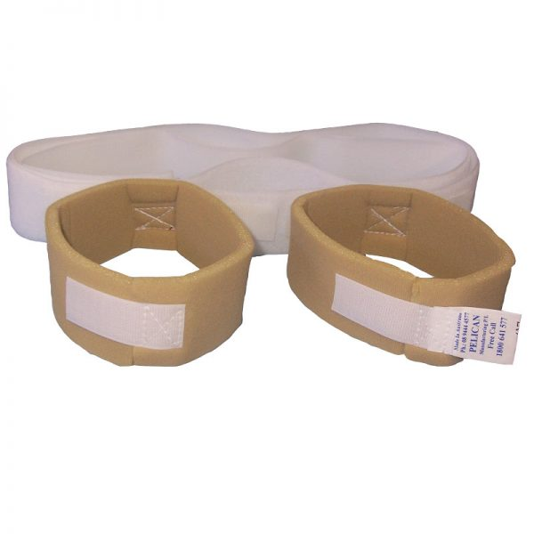 Heel & Footdrop Anti-Rotation Straps