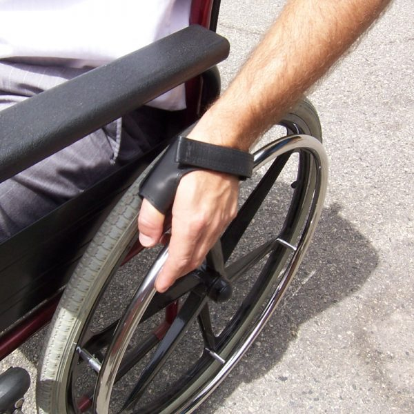 Wheelchair Leather Push Pads