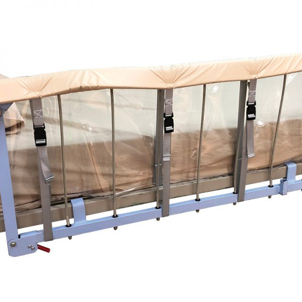 Bed Rail Protector - Clear