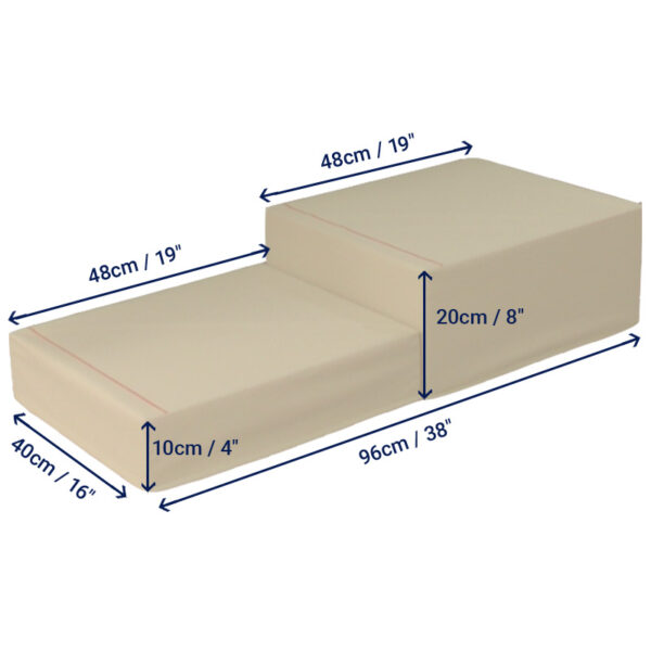 Bed Step - Two Steps
