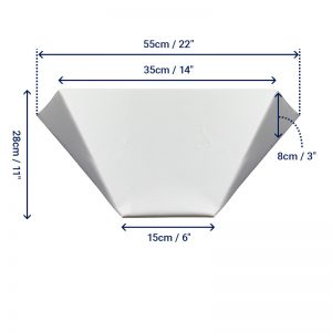 Bed Wedge - Small - Angled
