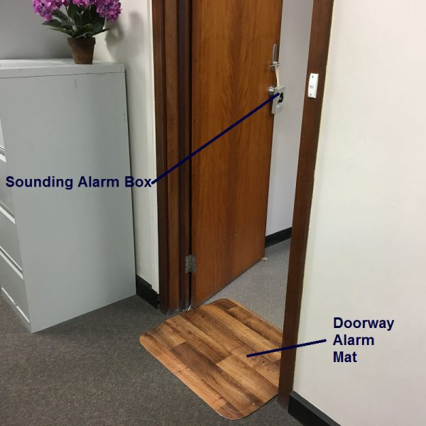 Stand Up Doorway Alarm