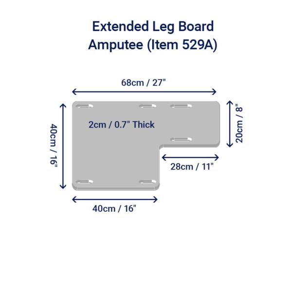 extended leg board