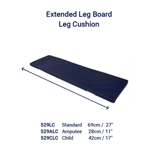 Extended Leg Board Cushion Cushion