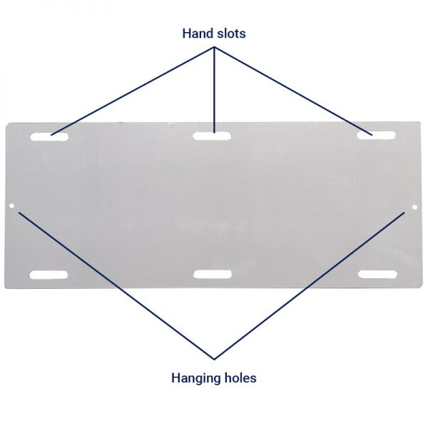 slide board hand slots