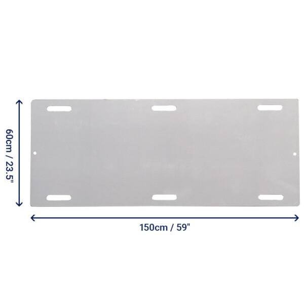 """Slide Board - Trolley - Hand Slots - 150cm (59"""")"""