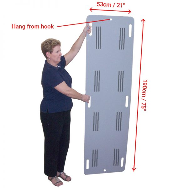 "Slide Board - Trolley - Hand Slots - 190cm (75"")"