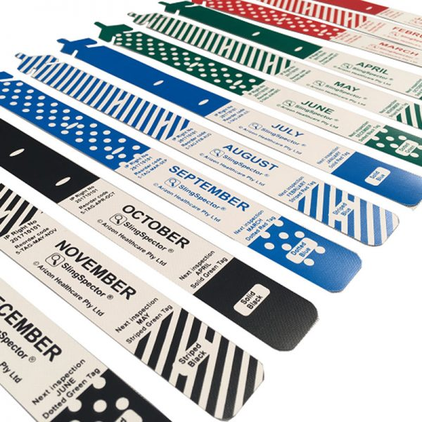Sling Inspection Tags (40 Pack)