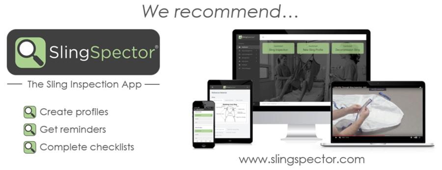 SlingSpector sling inspection