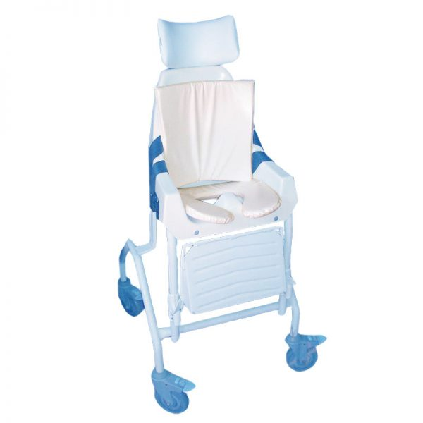 Child's Commode & Back Cushion