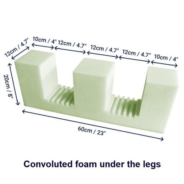e cushion dimensions