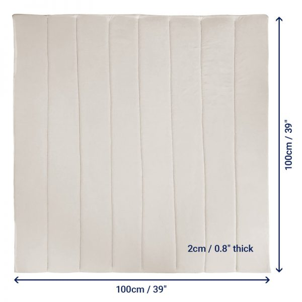 vented overlay pad