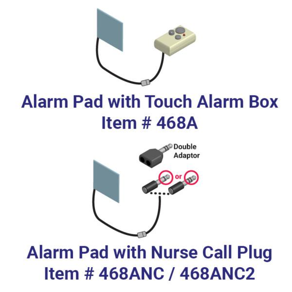 Bed Side Helper Alarm Pad